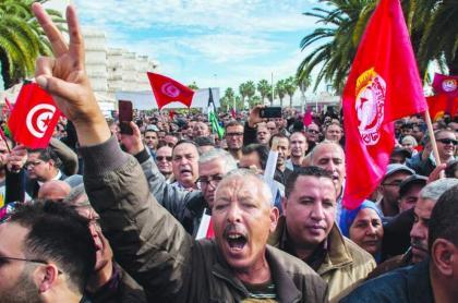 الاتحاد العام التونسي للشغل يهدد بتصعيد ما بعد الإضراب العام