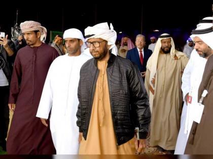 سلطان بن زايد يفتتح المهرجان التراثي  ال13