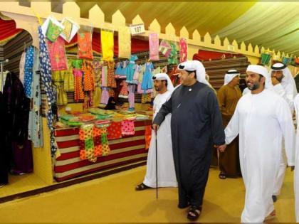 مهرجان سلطان بن زايد التراثي يتوج الفائزين بمزاينة اللقايا ومحالب الحزامي