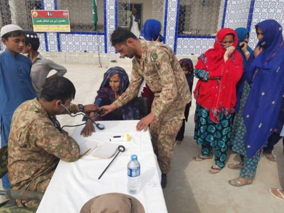 Over 1700 Patients Get Treatment At Pak Army Medical Camp