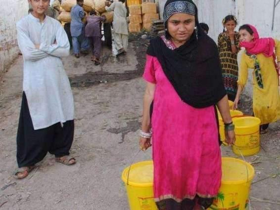 Water shortage perturbs the residents Rawalpindi