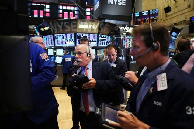 US stocks open lower but GM surges on good outlook