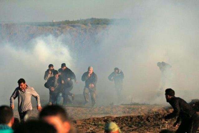 Palestinian woman killed by Israeli fire in border protests: Gaza ministry