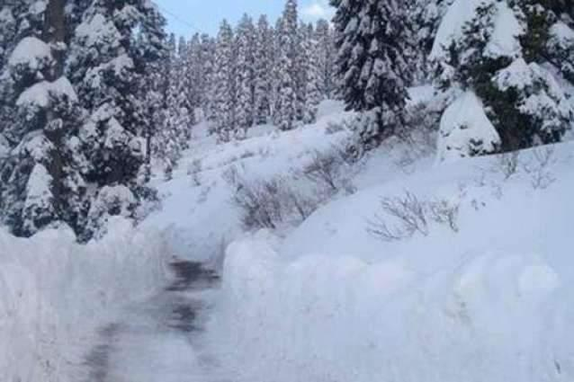 AJK receives new spell of rains and heavy snow falls