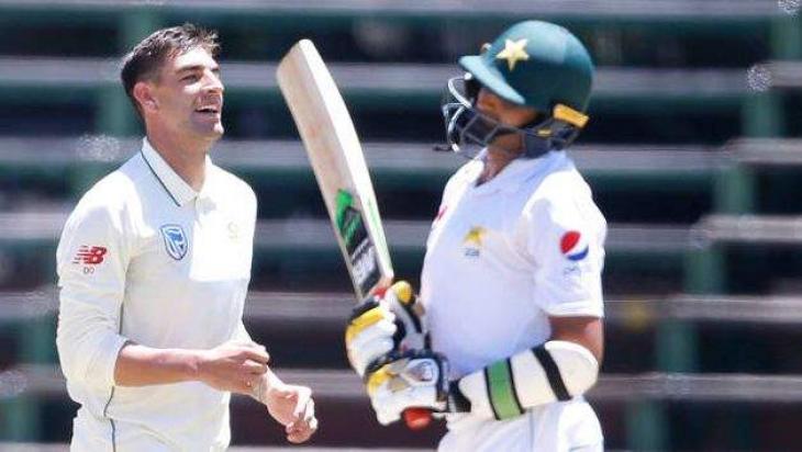 Cricket: Olivier wrecks Pakistan again