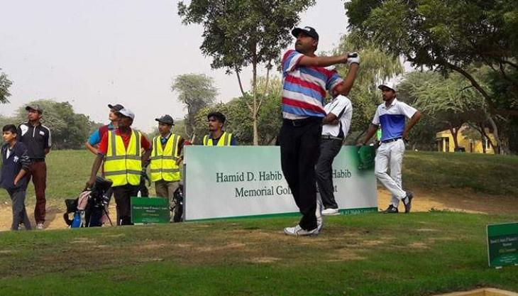 Matloob Ahmed maintains lead on third day of National Golf Championship