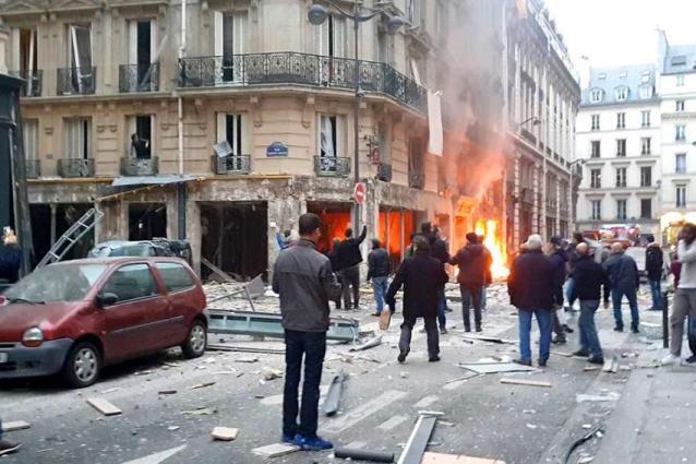 Two firefighters, Spanish tourist killed in Paris gas leak blast