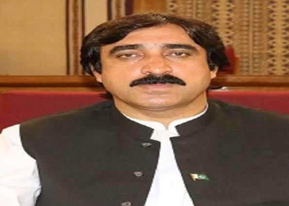 Dealing with water crisis, provincial government's priority:  Minister Haji Noor Muhammad Dummar