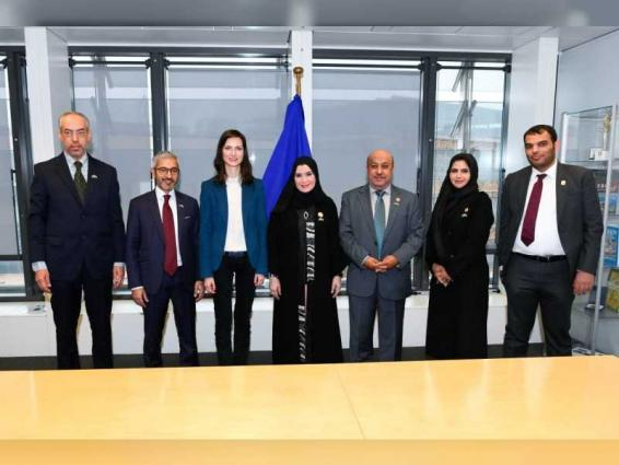 Amal Al Qubaisi highlights UAE's efforts to achieve international security, stability to European parliamentarians