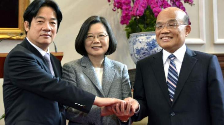 New Taiwanese Prime Minister Takes Oath, Assumes Office - Administration
