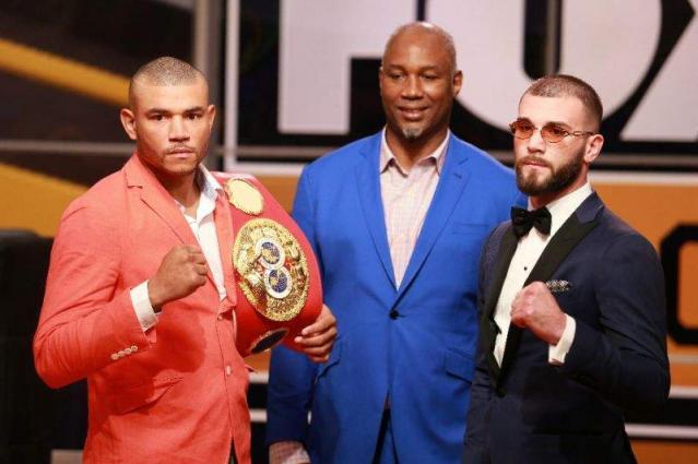 Plant beats Uzcategui to win IBF super middleweight title