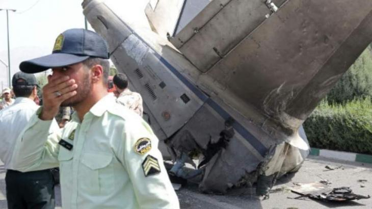 Cargo plane crashes in Iran with 10 onboard: media