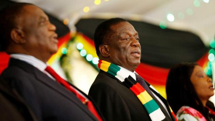 Zimbabwean President Emmerson Mnangagwa Arrives in Moscow for First Official Visit