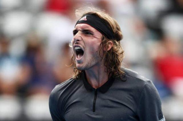 NextGen champ Tsitsipas first Greek man to win Aussie Open match