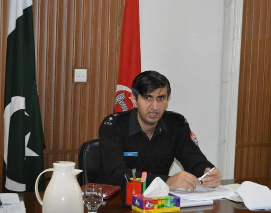 DPO Abbottabad directs improvement in vehicles verification system