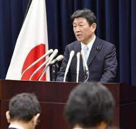 وفد ياباني برئاسة وزير الاقتصاد يصل إسرائيل لبحث توطيد العلاقات التجارية