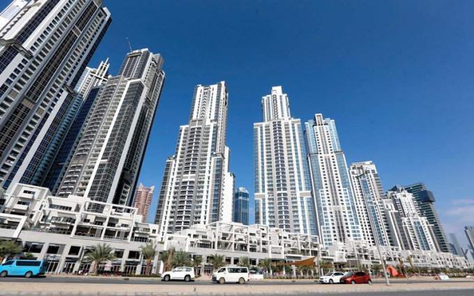 343 مليون درهم تصرفات عقارات دبي اليوم