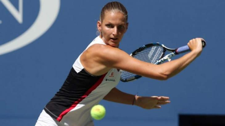 Karolina Pliskova's power-hour overwhelms Garbine Muguruza in last 16