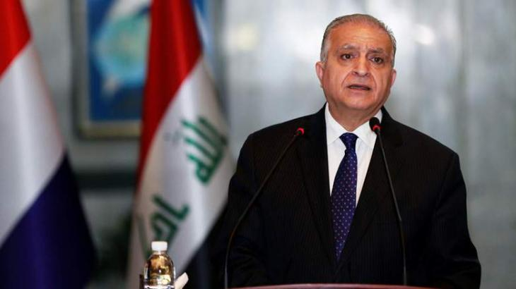 Iraqi Foreign Minister Mohamed Alhakim Says Will Discuss Syria, Regional Issues With Lavrov Jan 30