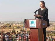 UNHCR Special Envoy Angelina Jolie Urges Myanmar to End Violence, ..