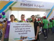 Community Development Minister leads Dubai Cares' Walk for Educ ..
