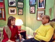 Shehbaz Sharif enjoys freedom as he spends time with Tehmina Durr ..