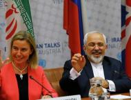 Mogherini, Zarif Agree to Work Together for Further Implementatio ..