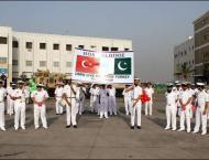 Pakistan Navy holds joint exercise with Turkish Navy: spokesman