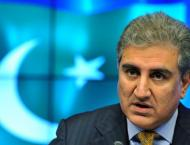 Foreign Minister Shah Mahmood Qureshi denounces India for accusin ..