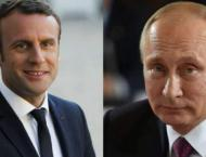 Macron Discussed Syria, Ukraine in Phone Call With Putin - Presid ..