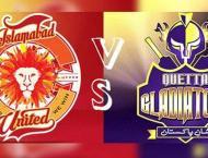 Islamabad United VS Quetta Gladiators PSL LIVE Streaming 17 Febru ..