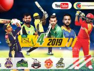 HBL PSL Season 4 live stream tops 10 million views in 5 matches