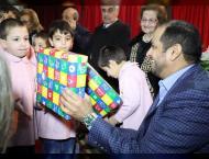 UAE Ambassador presents humanitarian aid provided by Khalifa Foun ..
