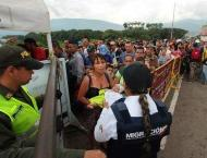 Clashes on Venezuelan-Colombian Border Continued Sunday With Part ..
