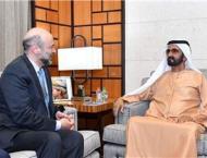 Mohammed bin Rashid receives Jordanian Prime Minister