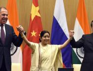 China, Russia, India to strengthen cooperation after foreign mini ..