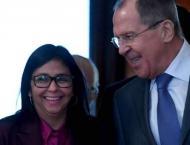Venezuelan Vice President Rodriguez, Lavrov to Discuss Cooperatio ..