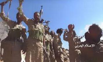 جماعة أنصار الله تعلن قصف تجمعات لقوات ..