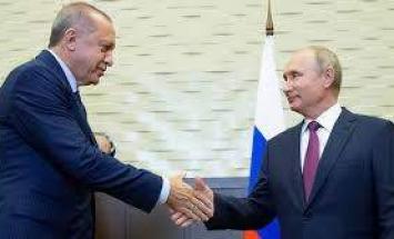 أردوغان يؤكد استمرار الاتفاق مع روسيا ..
