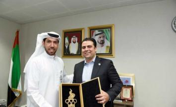 اللجنة الأولمبية الأردنية : الإمارات ..