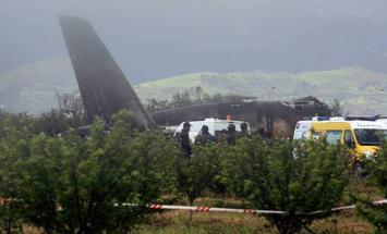 وزارة الدفاع الجزائرية تؤكد تحطم طائرة ..