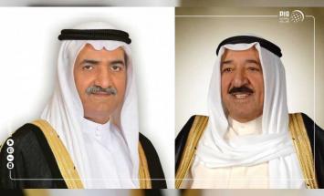 حاكم الفجيرة يهنىء أمير الكويت باليوم ..