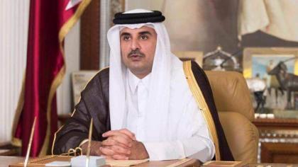 عاهلا الكويت وقطر يبحثان آفاق تطوير العلاقات بين البلدين الخليجيين