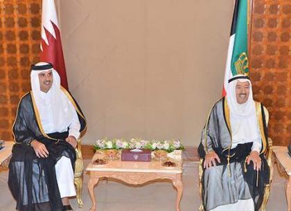 أمير قطر يصل إلى الكويت على رأس وفد رسمي - إعلام