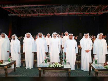 """ولي عهد دبي يشهد أول حفل تخريج لجامعة حمدان بن محمد الذكية باستخدام تقنية """"بلوك تشين"""""""