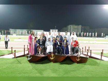 الجزائر تتصدر منافسات اليوم الثاني للبطولة العالمية للإعاقة الحركية والبتر والإمارات ثانيا