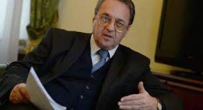 روسيا تحرص على ضمان سيادة الدولة الليبية وليس لديها أجندة خفية هناك- بوغدانوف