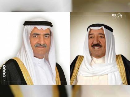 حاكم الفجيرة يهنىء أمير الكويت باليوم الوطني وذكرى تحرير بلاده