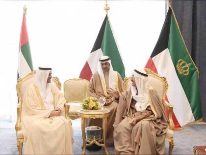 حمد الشرقي يلتقي أمير الكويت وعاهل البحرين و رئيس الوزراء الايرلندي على هامش القمة العربية الأوروبية