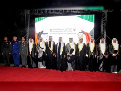 نهيان بن مبارك يحضر حفل الاستقبال بمناسبة اليوم الوطني لدولة الكويت